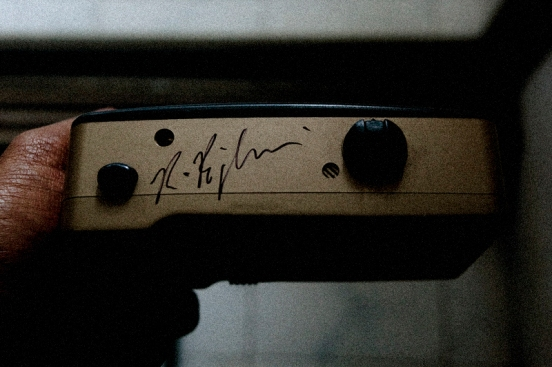 Camera signed by Richard Billingham