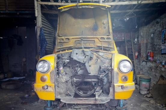 The Hindustan Ambassador Taxi