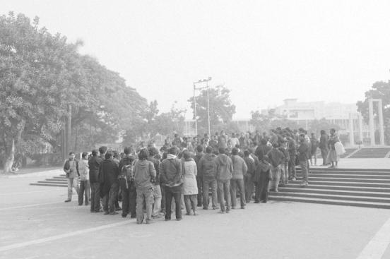 At Bijon Sarker's Funeral. Photograph - Sarker Protick